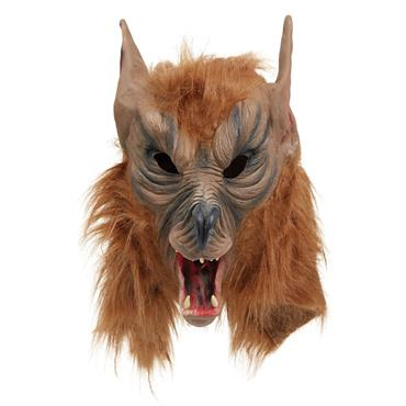 Brown 'She' Wolf Mask
