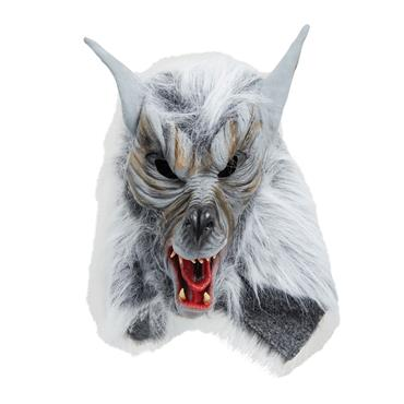 Grey 'Killer' Wolf Mask