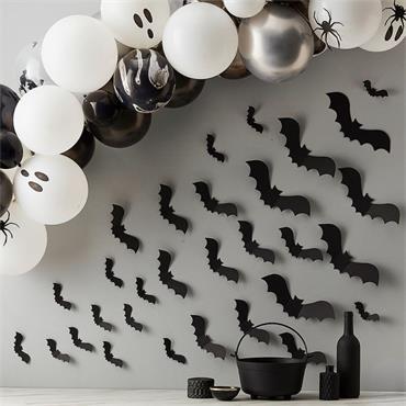 Halloween Bat Wall Decorations