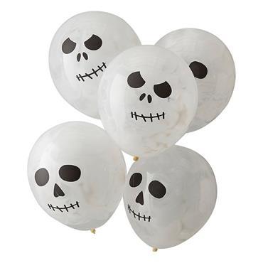 Skull Halloween Balloons