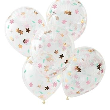 Floral Confetti Balloons - Ditsy Floral