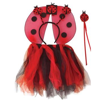 Ladybird TuTu, Wings, H'Band,