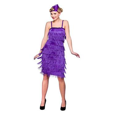 Jazzy Flapper - Purple Costume