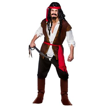 Caribbean Pirate Costume (Budget)