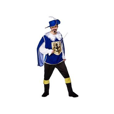 Musketeer Costume - Blue