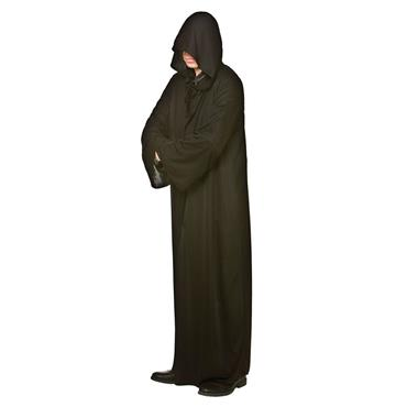 Hooded Robe- Black