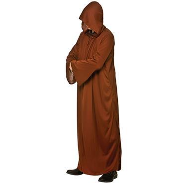 Hooded Robe- Brown