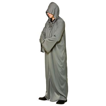 Hooded Robe- Grey