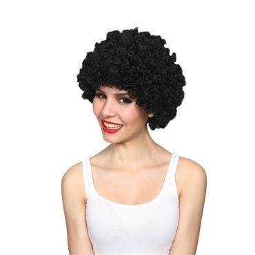 Funky Afro Wig - Black
