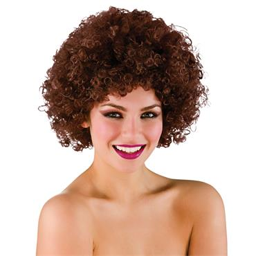 Funky Afro - Brown Wig