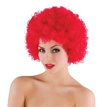 Funky Afro - Red Wig