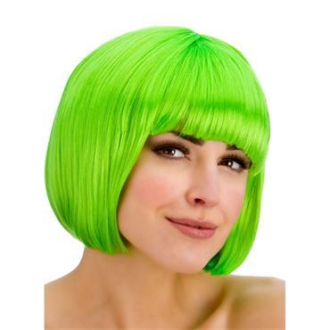 Diva Wig - Neon Green
