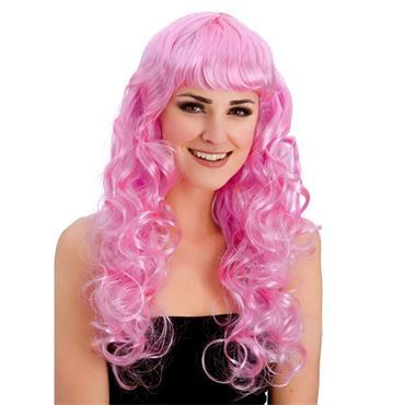 Foxy Wig - Pink