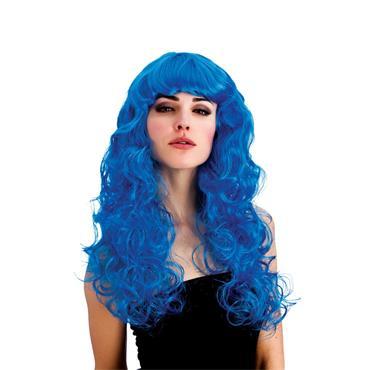 Foxy Wig - Blue
