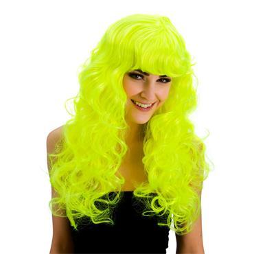 Foxy Wig - Neon Yellow