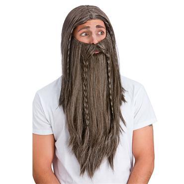 Deluxe Wig & Long Beard