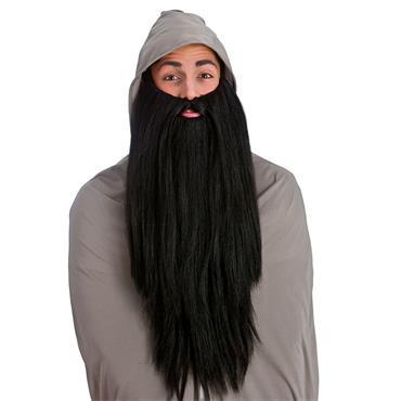 Deluxe Long Beard- Black