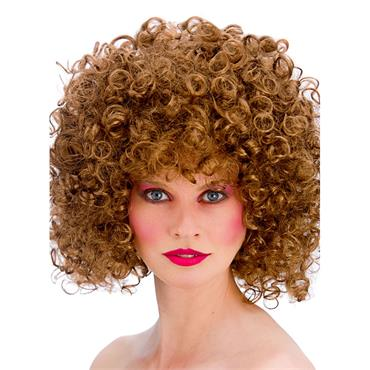80s Disco Perm- Brown