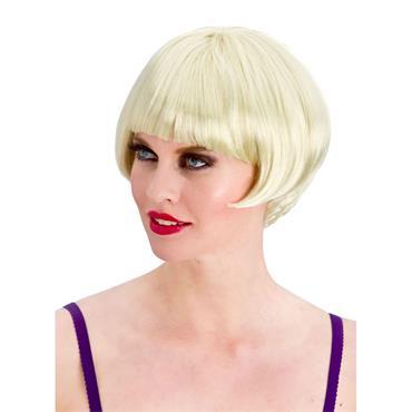1920's Flapper Wig - Blonde