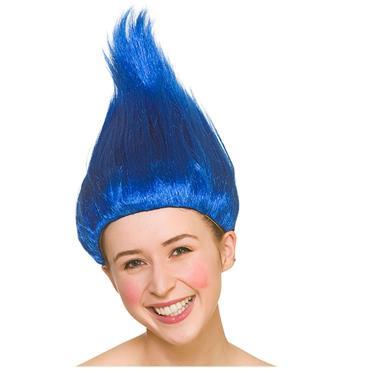 Troll Wig - Blue