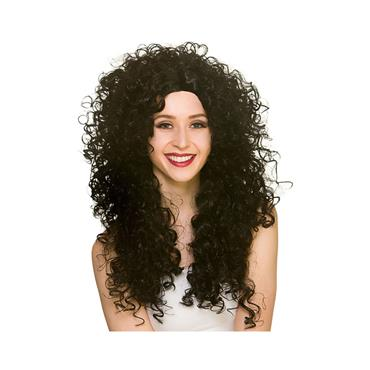 Long Curly Wig - Black