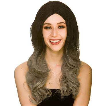 L.A Glamour Ombre Wig - Black/Blonde