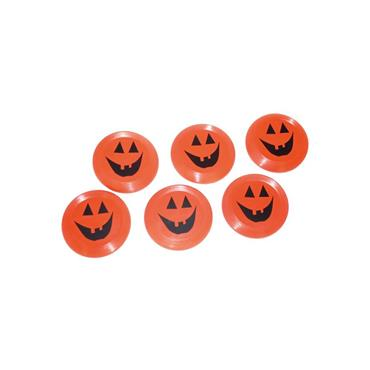 Halloween Frisbee's 9cm (6 pcs)