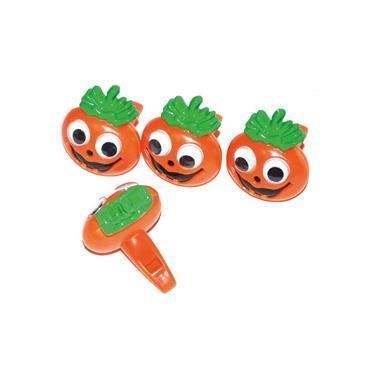 Pumpkin Whistles 4cm (4 pcs)