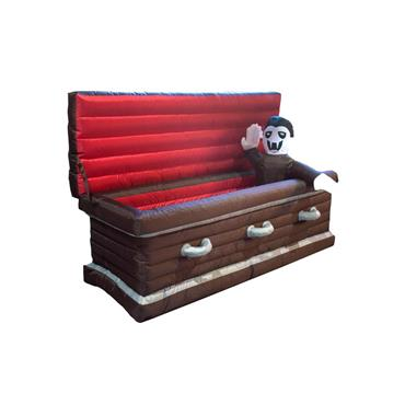 Inflatable Coffin with Vampire - 200cm