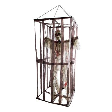 Skeleton in Cage 100cm
