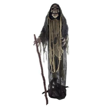 Witch Zombie with Light Movement &Sound - 160cm