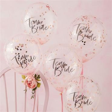 Confetti Balloons Team Bride