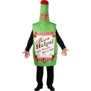 Funny Beer Bottle Costume