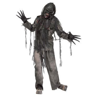 Burning Dead Zombie