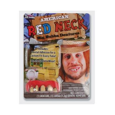Big Buddy Dentures - Red Neck