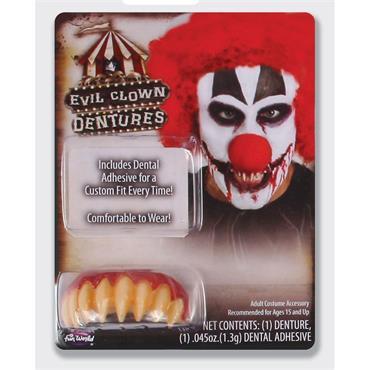 Big Buddy Dentures - Killer Clown