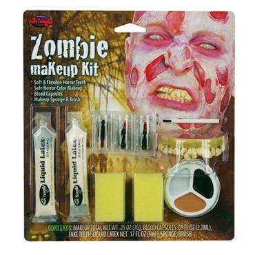 Zombie Makeup Kit/Peeling Skin