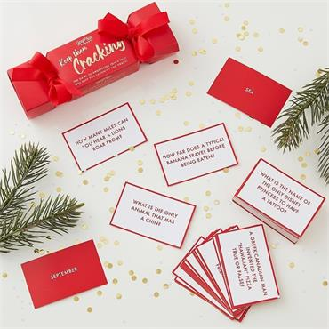Christmas Trivia Game for Adults