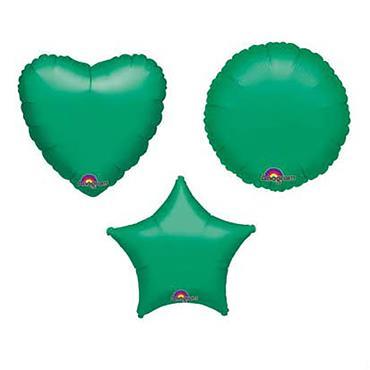 """Green Foil Balloons 18"""" - 22"""""""