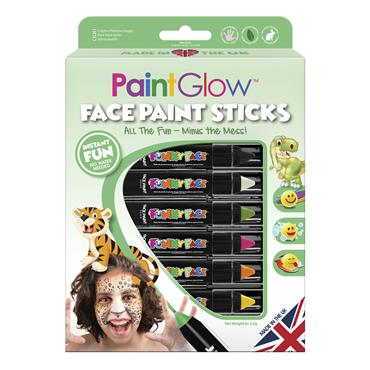 Adventure Face Paint Stick Set