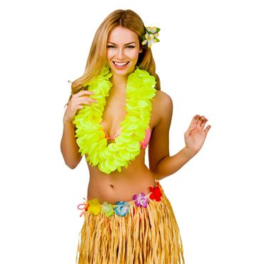 Large Petal Lei - Yellow