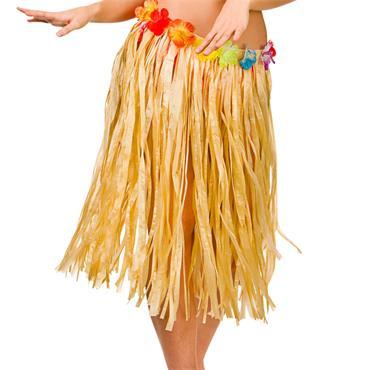 Hula Skirt / 60cm / Natural