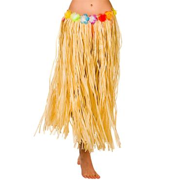 Hula Skirt / 80cm / Natural (Plus Size)