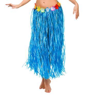 Hula Skirt / 80cm / Blue (Plus Size)