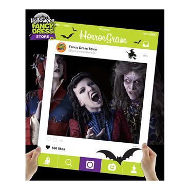 HorrorGram Cutout Frame