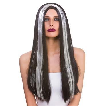 Classic Long Wig - Black