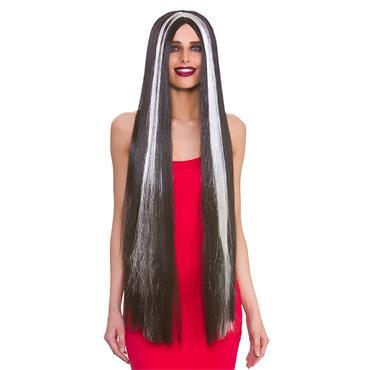 Classic Extra Long Wig - Black