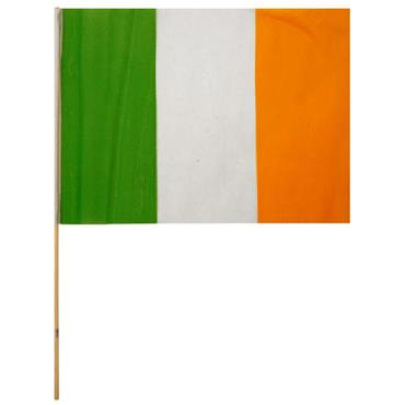 Irish Handwaver Fabric Flag - St Patricks Day