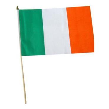 Irish Hand Waving Flag