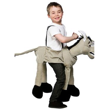 Ride On Grey Donkey (child One Size)